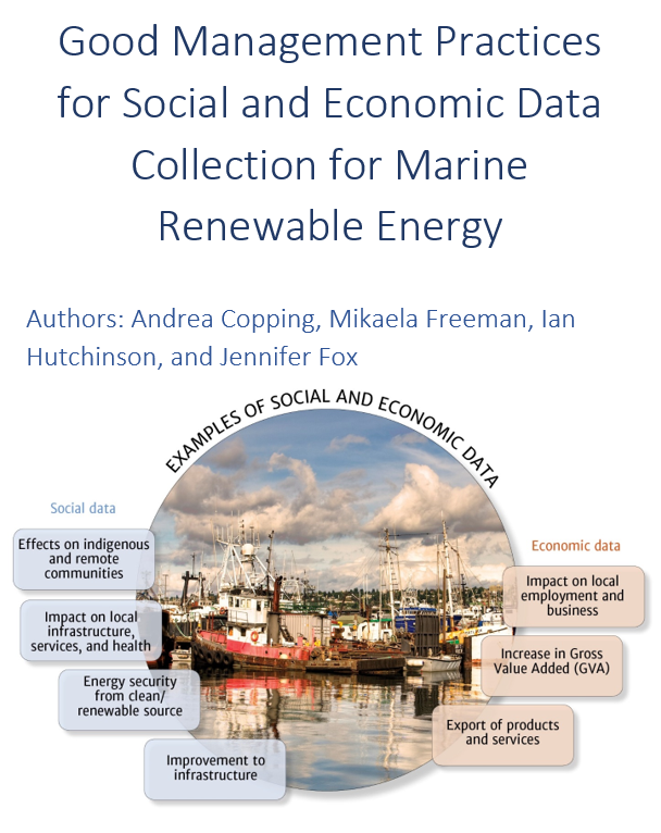 Good Management Practices for Social and Economic Data Collection for Marine Renewable Energy