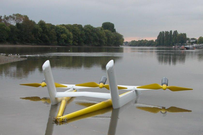 Photo of Triton 3 Tidal Stream Device