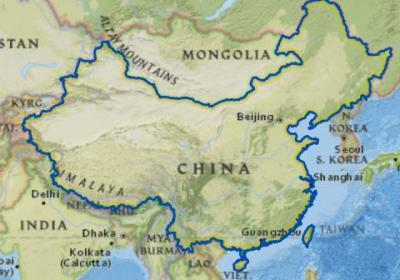 China Country Outline